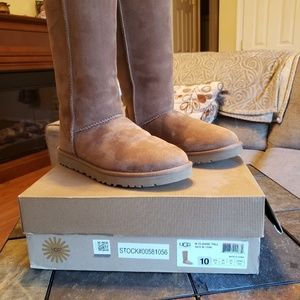 Ladies tall classic ugg boots